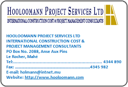 Hooloomann Project Services Ltd